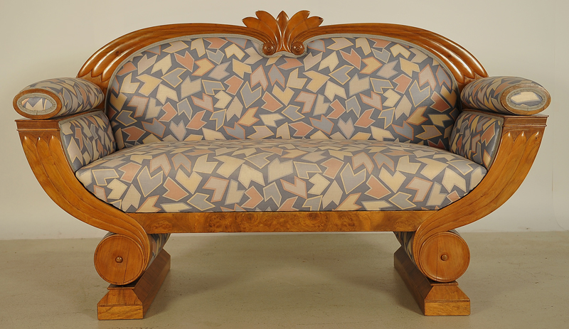 Art Deco Sofa in Gondelform 1